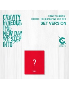 cravity season2 hideout the new day we step into ver2 cd poster