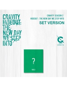 cravity season2 hideout the new day we step into ver3 cd poster