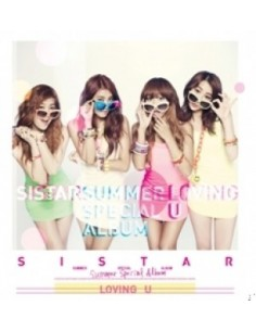Sistar Summer Special Album - Loving U CD + Poster