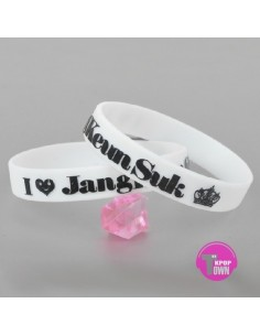 [JK13] Jang Keun Suk  NEW Jelly Band Bracelet