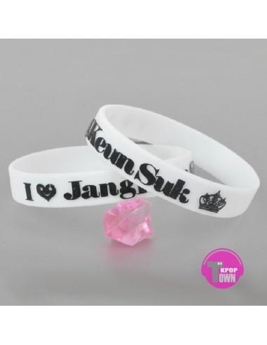 [JK13] Jang Keun Suk  NEW Jelly Band Bracelet