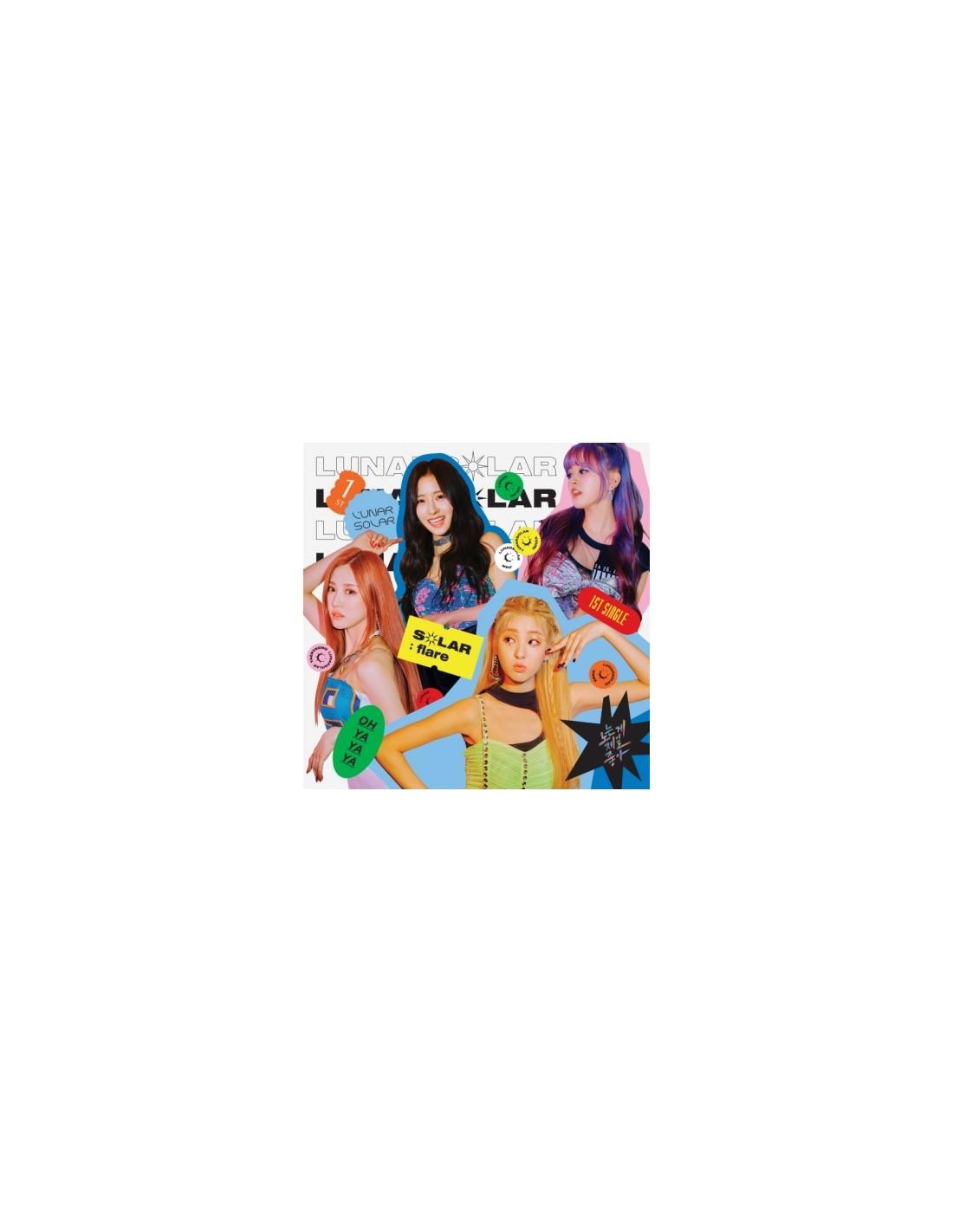 LUNARSOLAR 1st single Album - SOLAR : flare CD + Poster