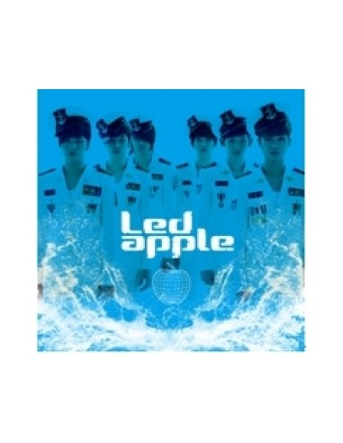 Led Apple 2nd Mini Album - RUN TO YOU CD + Poster